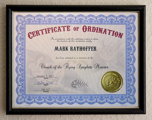 printable ordination certificates